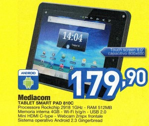 Tablet mid range at good price